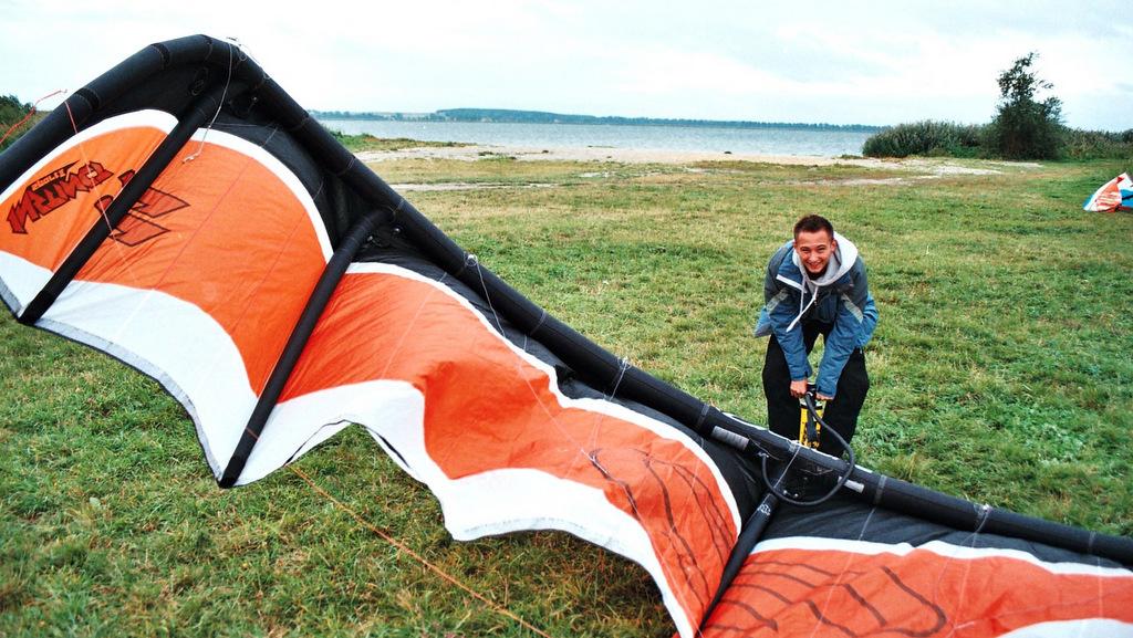 przygotowanie sprzętu kitesurfing