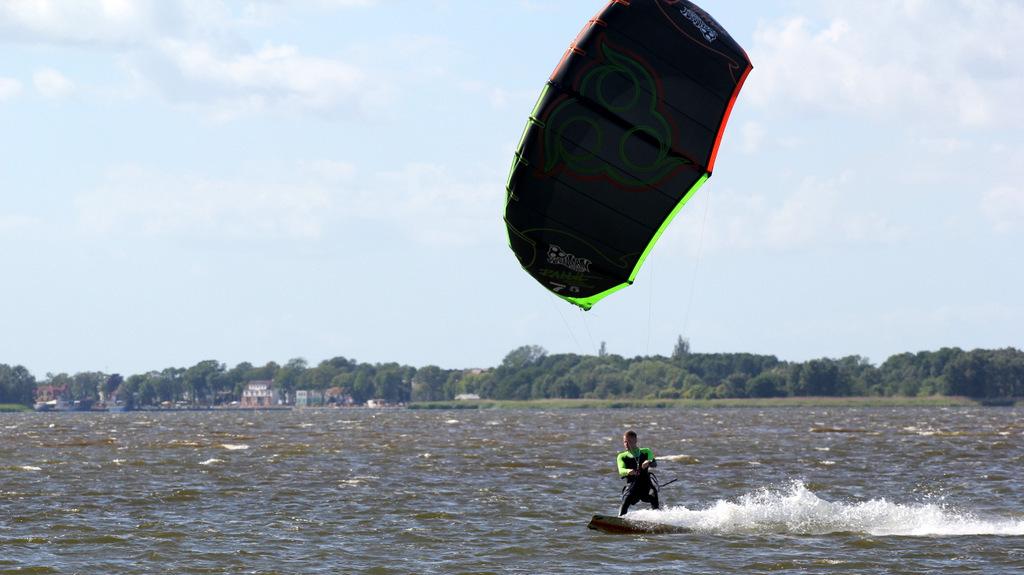 kitesurfing szczecin