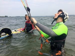 Kurs na instruktora kitesurfingu