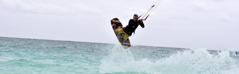Oferujemy kursy kitesurfingu