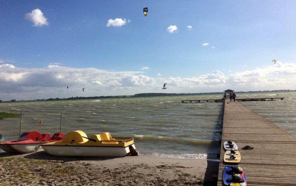 miedwie kitesurfing
